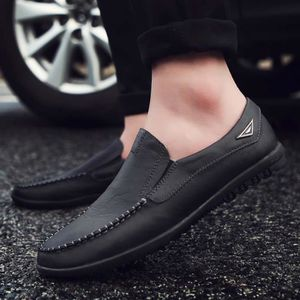 MOCASSIN Cuir Hommes Lazy Chaussures souples Mocassins Mode
