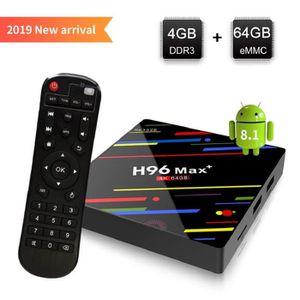 BOX MULTIMEDIA [Android 8.1 TV Box] H96 Max+ Smart TV Box 4GB+64G