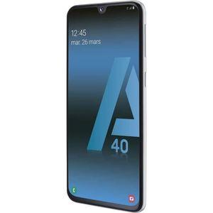 SMARTPHONE Samsung Galaxy A40 Double Sim Débloqué Blanc