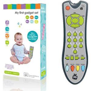 TABLE JOUET D'ACTIVITÉ Jouet télécommande pour bébé, télécommande de Simu