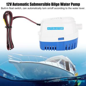 POMPE DE CALE 12V Pompe de cale pompe à eau automatique électriq