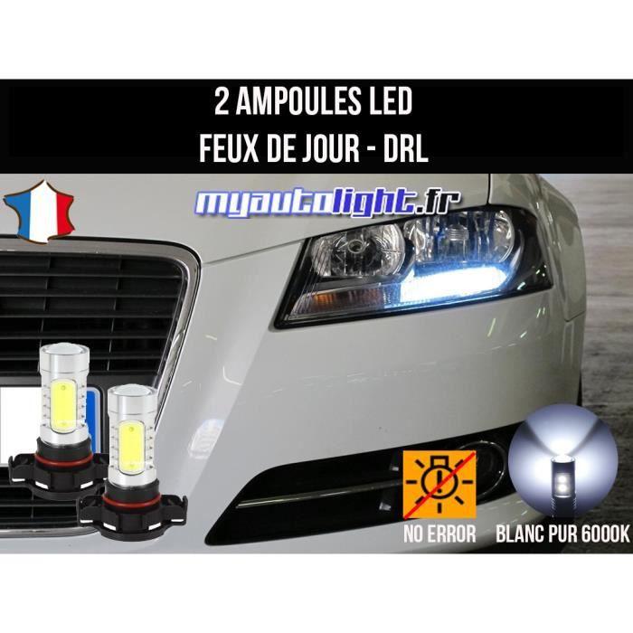 Pack feux de jour led blanc xenon pour Audi A3 8P