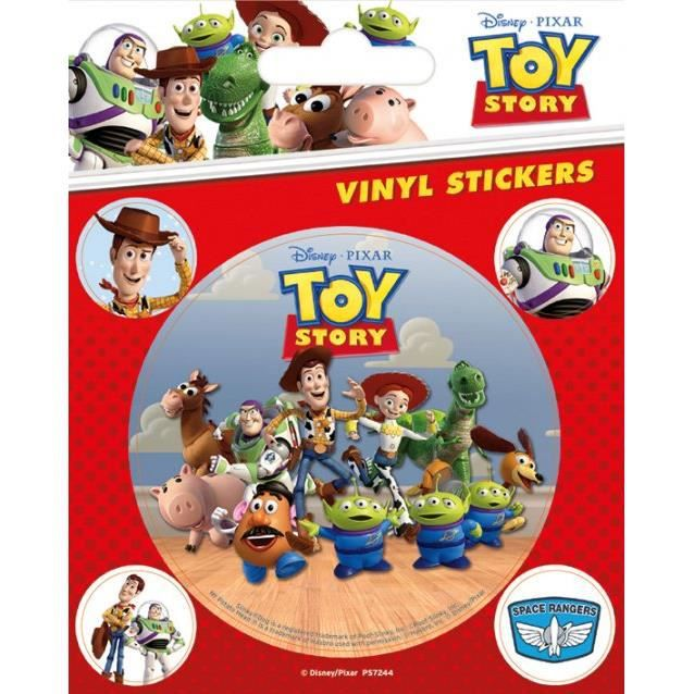 Pack de 5 Stickers Toy Story Pause Canap