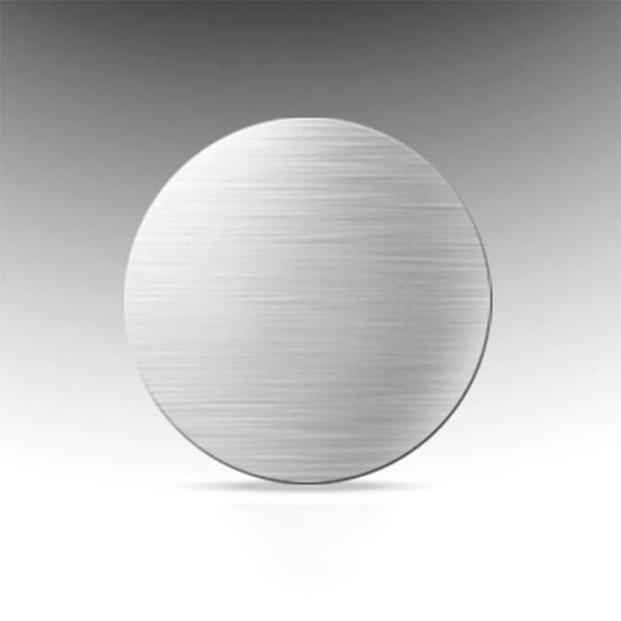 Supports voiture,Ikescargot plaque métallique magnétique Pour téléphone de voiture, support GPS 40*40mm, support - Type Argent