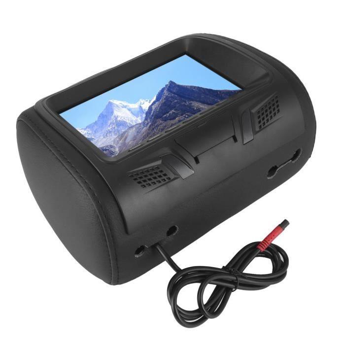 ARAMOX moniteur d'appui-tête Siège de voiture arrière MP5 lecteur multimédia moniteur DVD appui-tête écran LCD 7in Bluetooth