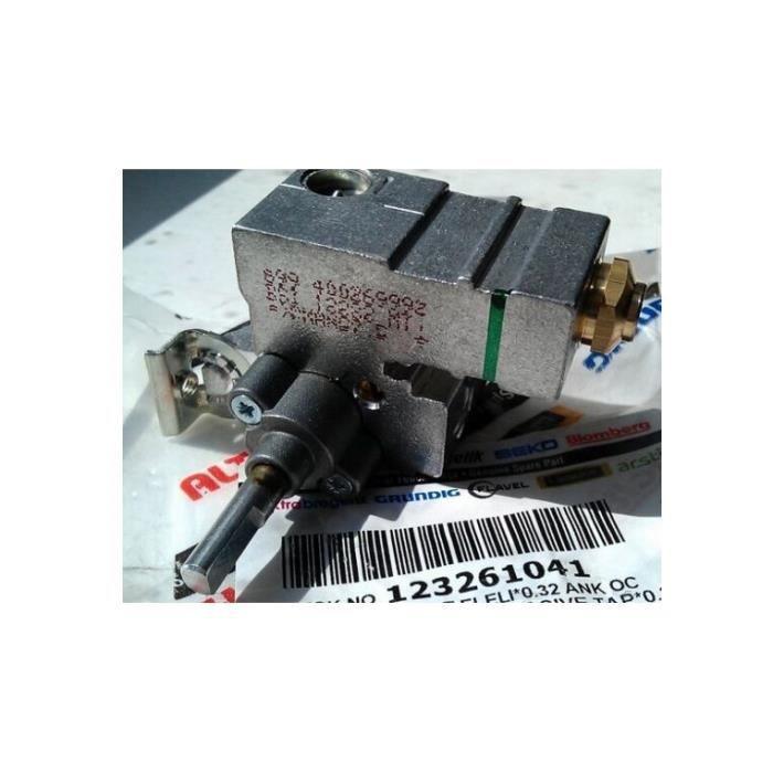 Beko 12361041 Robinet à gaz plaque de cuisson