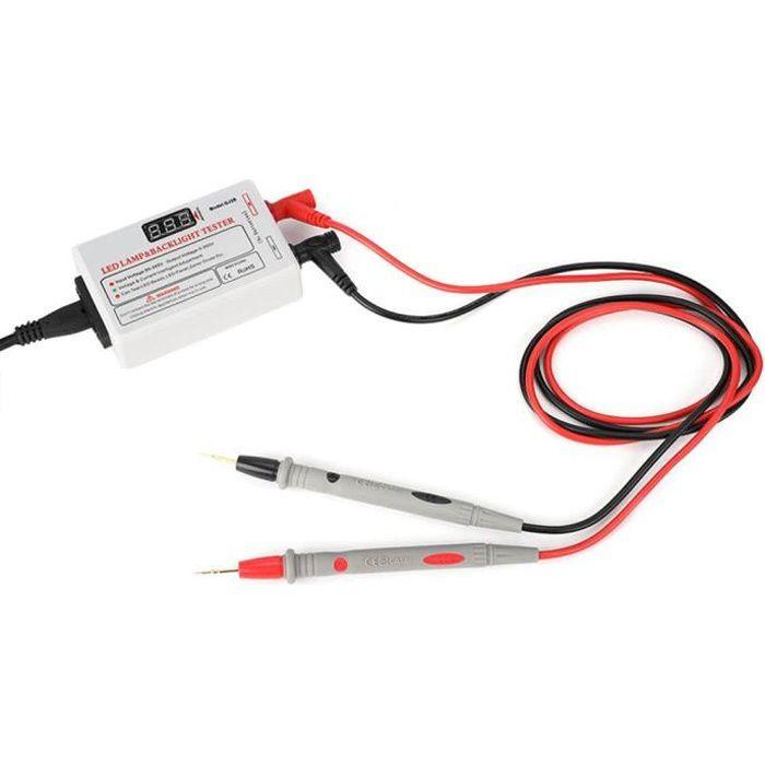 ESTINK Test de rétroéclairage LED TV 0-260V testeur de LED multifonctionnel testeur de rétroéclairage TV outil de test de