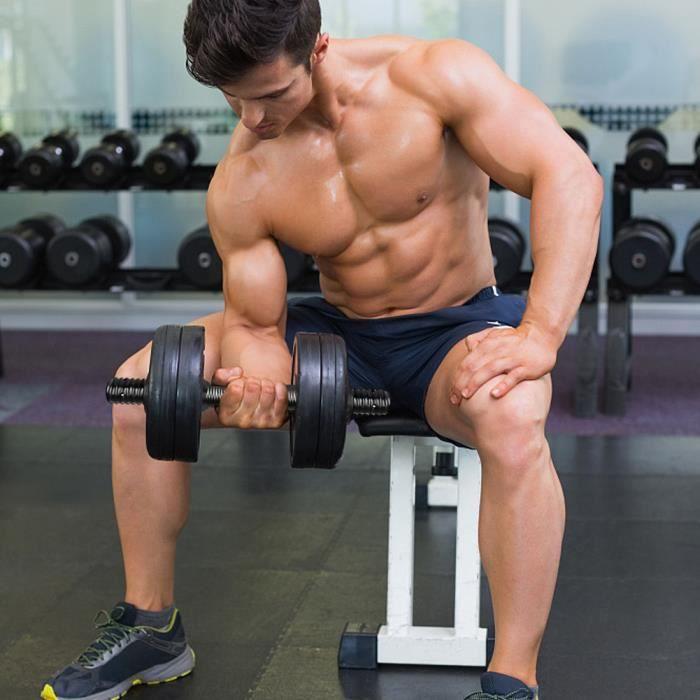 2Pcs-Set Barre d'haltères Barbell Tige de connexion Main Bell Grip Rod Équipement de fitness domestique BARRE - HALTERE - POIDS HB03