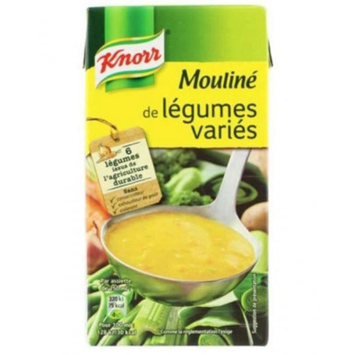 Knorr Mouliné de Légumes Variés 500cl (carton de 12)