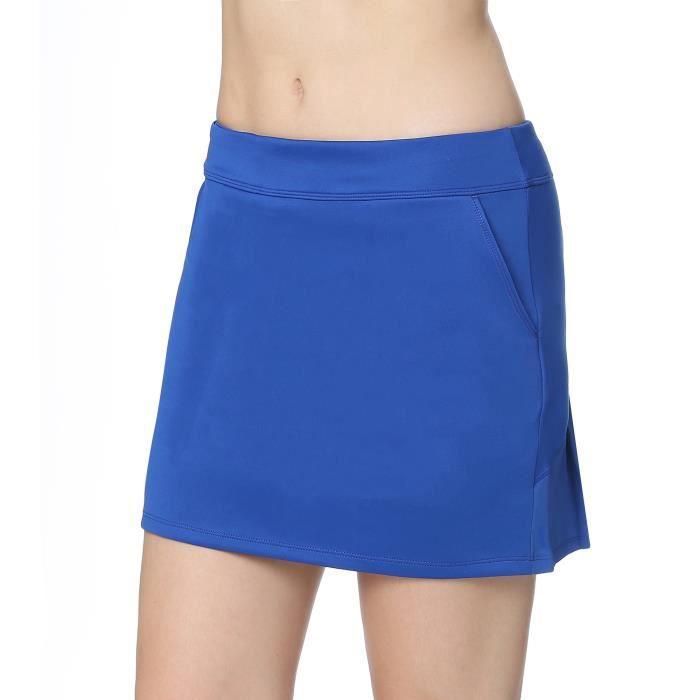 Honofash-Jupe de Golf Mini Skort pour Fille-Femme Activité Sport