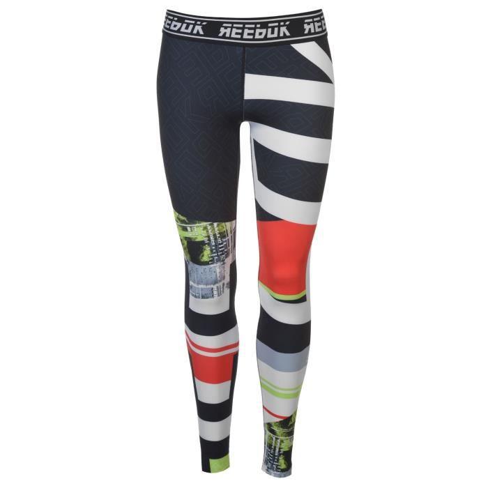 REEBOK Legging - Workout Engineered - lime - femme