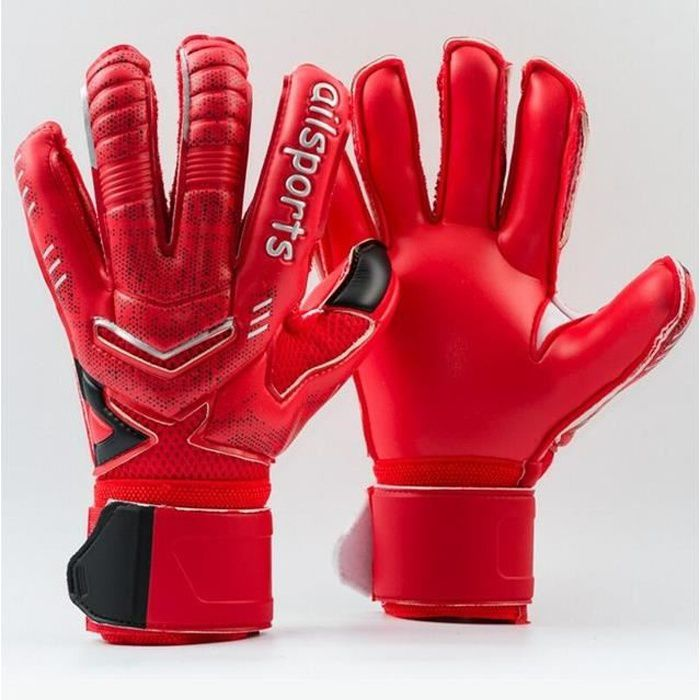 Gants de gardien de but en Latex 4MM pour Protection des doigts gants de Football épaissis gardien professionnel