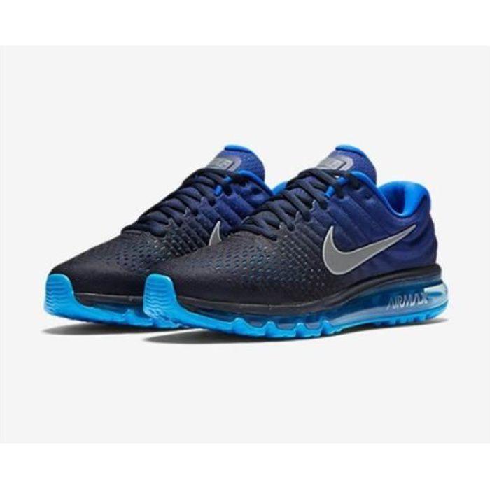 Baskets Homme AIR Original Max 2017 849559-400 Chaussures de Running Homme - bleu