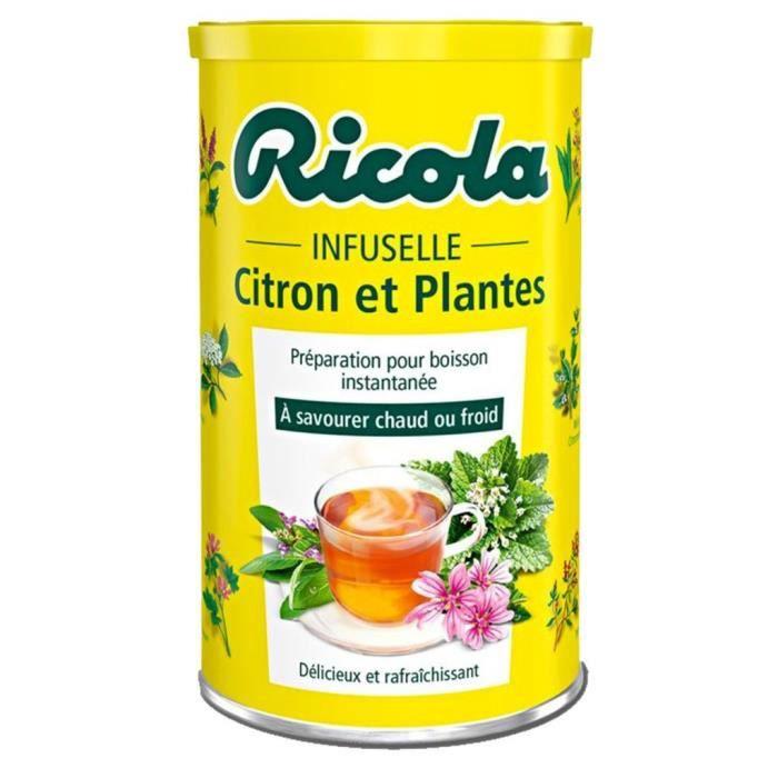 Ricola Infuselle aux 5 Plantes et Citron 200g (lot de 6)