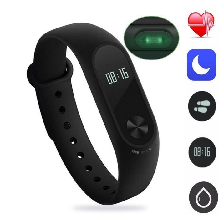 TD® Bracelet Connecté Digital / Montre d'activité sans fil avec écran OLED - Écran étanche IP 67Photosensible sportive