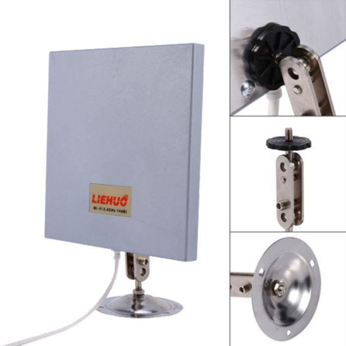2.4GHz 14dBi Antenne directionnelle panneau WiFi --YuYuan shop