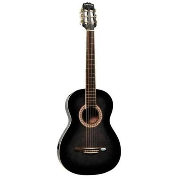 gipsy rose pack guitare classique noire achat vente. Black Bedroom Furniture Sets. Home Design Ideas