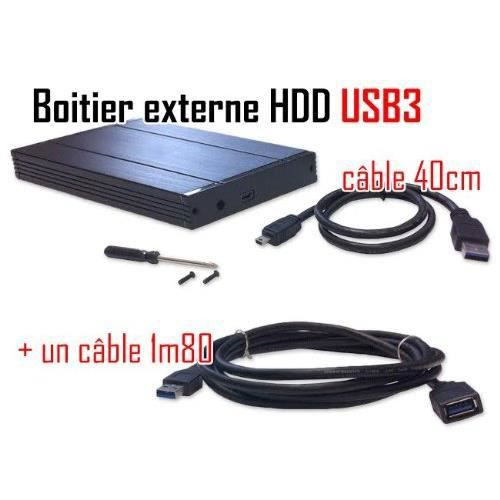 cabling boitier externe disque dur usb 3 0 r prix. Black Bedroom Furniture Sets. Home Design Ideas