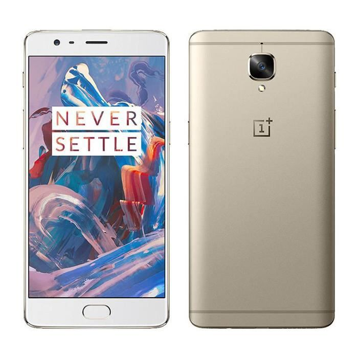 5 5 oneplus 3 three android 6 0 t l phone portable d bloqu snapdragon 820 6 64gb 4g lte. Black Bedroom Furniture Sets. Home Design Ideas