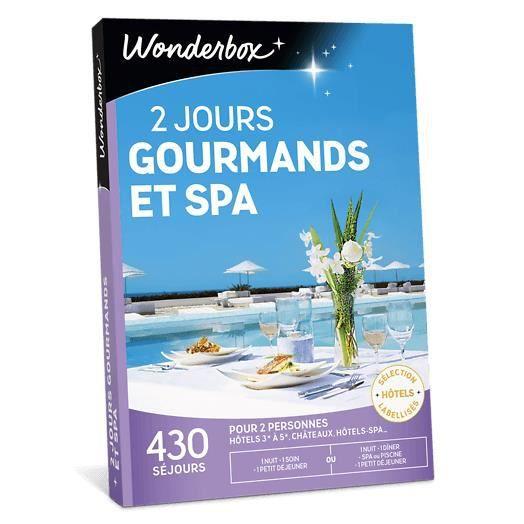 COFFRET SÉJOUR Wonderbox - Coffret cadeau en couple - 2 Jours gou