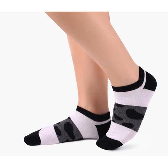 Vejoy Lot de 6 paires de chaussettes respirantes pour femme
