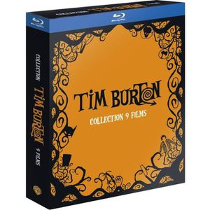 COFFRET Tim BURTON 9 Blu-Ray