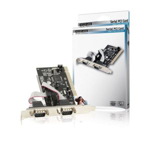 KONIG Carte PCI Serial Port - 2 ports série externes