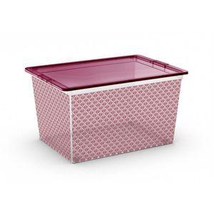 BOITE DE RANGEMENT ABM Boîte de rangement C box Style - 50 L - Décor