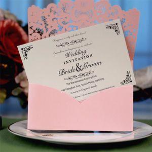 FAIRE-PART - INVITATION 10pcs délicat de soirée de mariage romantique scul