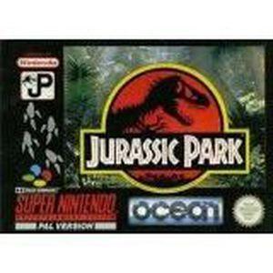 JEU CONSOLE RÉTRO Jurassic Park - Super Nintendo