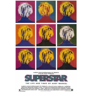 Superstar The Life And Times Of Andy Warhol Impression D Affiche