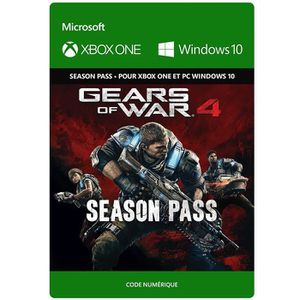 EXTENSION - CODE Season Pass Gears of War 4 pour Xbox One et Window