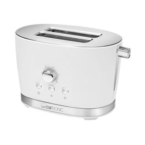 GRILLE-PAIN - TOASTER Grille-pain Clatronic Toaster TA 3690 - Blanc U