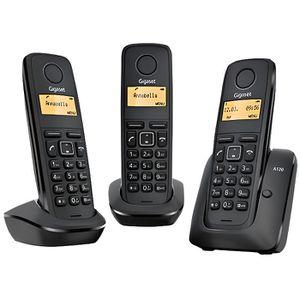 Téléphone fixe GIGASET A120 TRIO Téléphone sans fil DECT / GAP