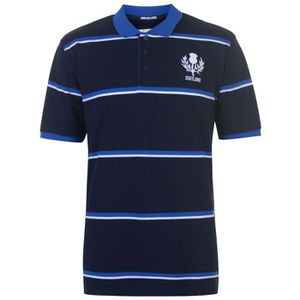 MAILLOT DE RUGBY TEAM RUGBY Polo rugby - homme - bleu foncé