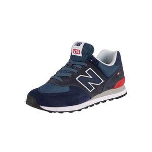 new balance 574 homme marron bleu