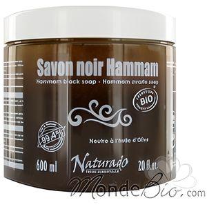 SAVON - SYNDETS Naturado Savon Noir Hammam neutre a l huile d O…