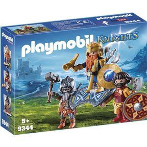 UNIVERS MINIATURE PLAYMOBIL 9344 - Knights - Roi des nains - Nouveau