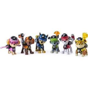 FIGURINE - PERSONNAGE PAT PATROUILLE Pack 6 Figurines D'Action Mission