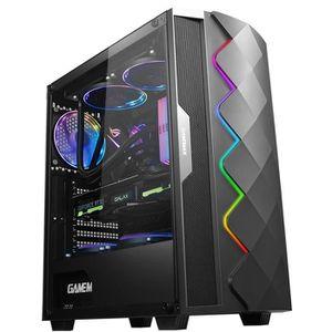 BOITIER PC  Boîtier PC ATX/MATX/ITX 8 Ventilateur (Pas Inclure