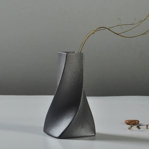 VASE - SOLIFLORE Vase De Fleur Céramique OrnementDécoratifBureau