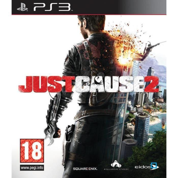JEU PS3 JUST CAUSE 2 / JEU CONSOLE PS3