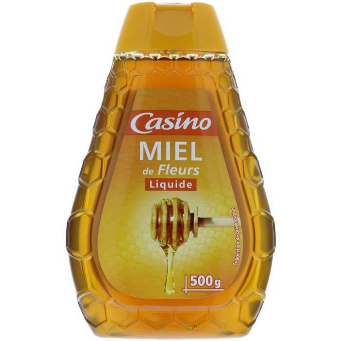 CASINO Miel de Fleurs Liquide - 500 g