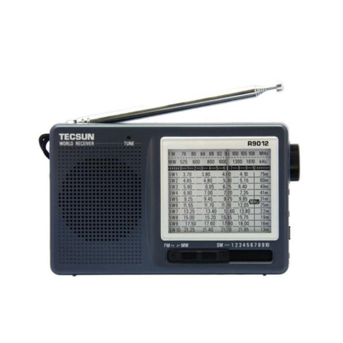 1Pc Mini Radio Durable Portable multi-usages Compact haut-parleur utile pour les personnes âgées RADIO CD - RADIO CASSETTE - FM