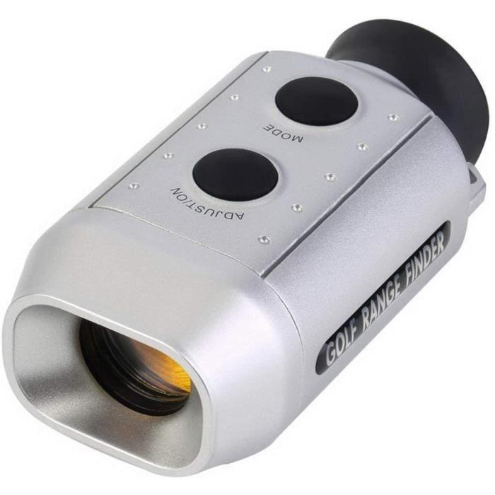 7 x Télémètre de Golf numérique Portée Portée Télémètre de Golf Diastimètre Golf Télémètre Laser Portable léger de 55