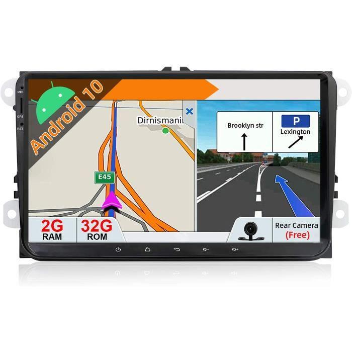 JOYX Android 10 Double Din Autoradio Pour VW Golf-Skoda-Seat-Passat-Polo Navigation - 9 Pouce - Caméra Canbus Gratuit - 2G+32G[381]