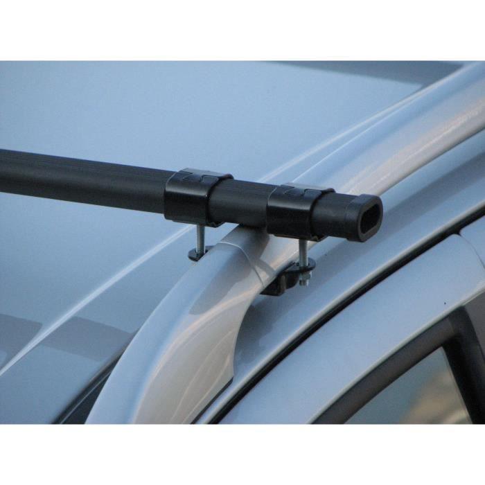 Barres de toit pour véhicules avec barres longitudinales d'origine - voir liste