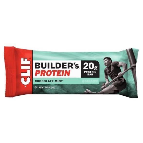 Barre Clif Builder Chocolate/Mint - vert/rouge - TU