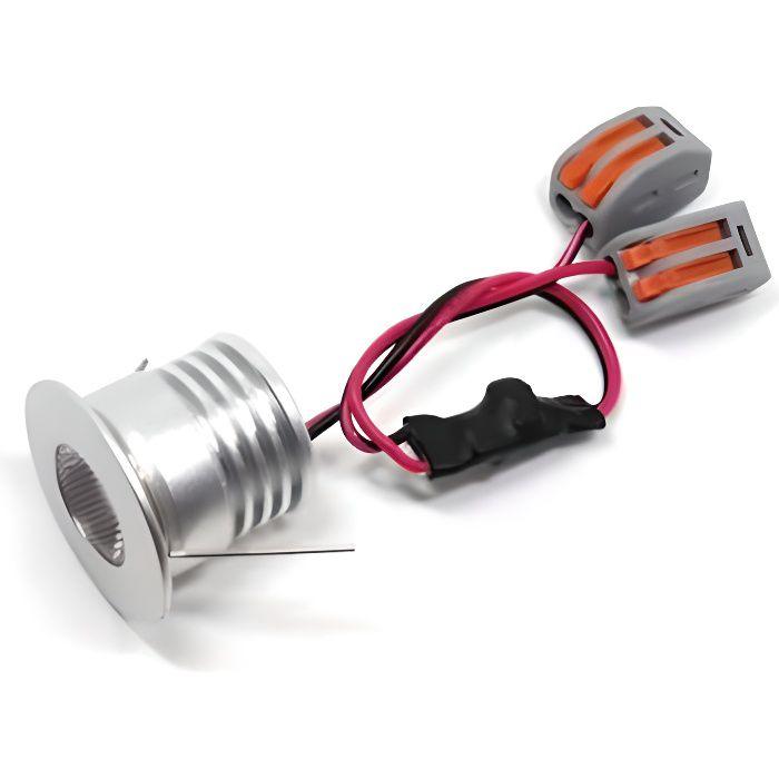 Spot LED Encastrable Compact 4W 12V Équivalent 30W IP65 - Blanc Naturel 4000K