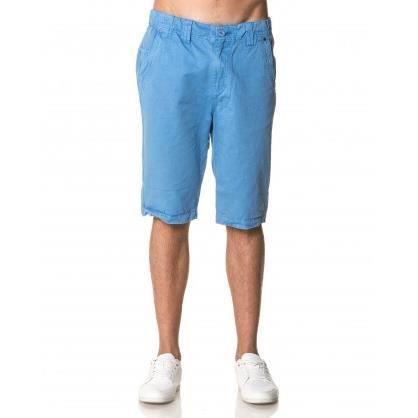 Bermuda Chino Bleu Homme